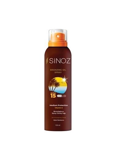 Sinoz Bronzlaştırıcı Sprey Güneş Yağı 200 ml Renksiz